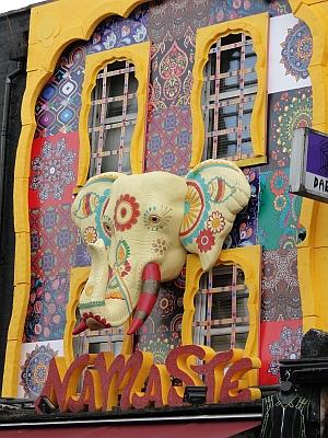 Elephant shop front in Camden Lock