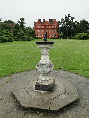 Kew palace and sundial
