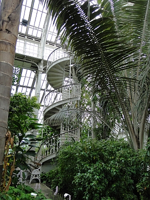 Kew winding staircase