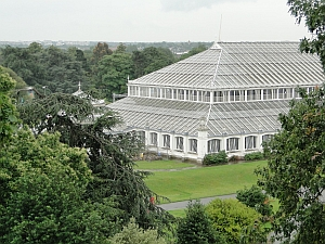 View of Temperate House from Treetop Walkway